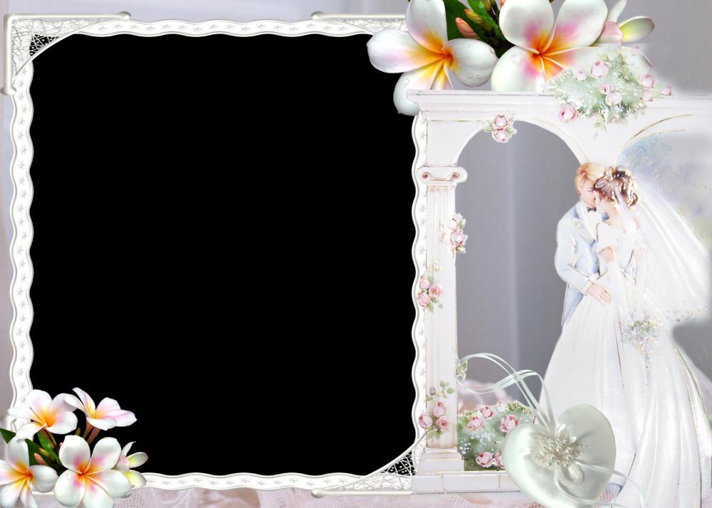 Elegantes Marcos para Fotos de Boda o Matrimonio Marcos Gratis para 1000x714