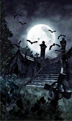 free graveyard wallpaper