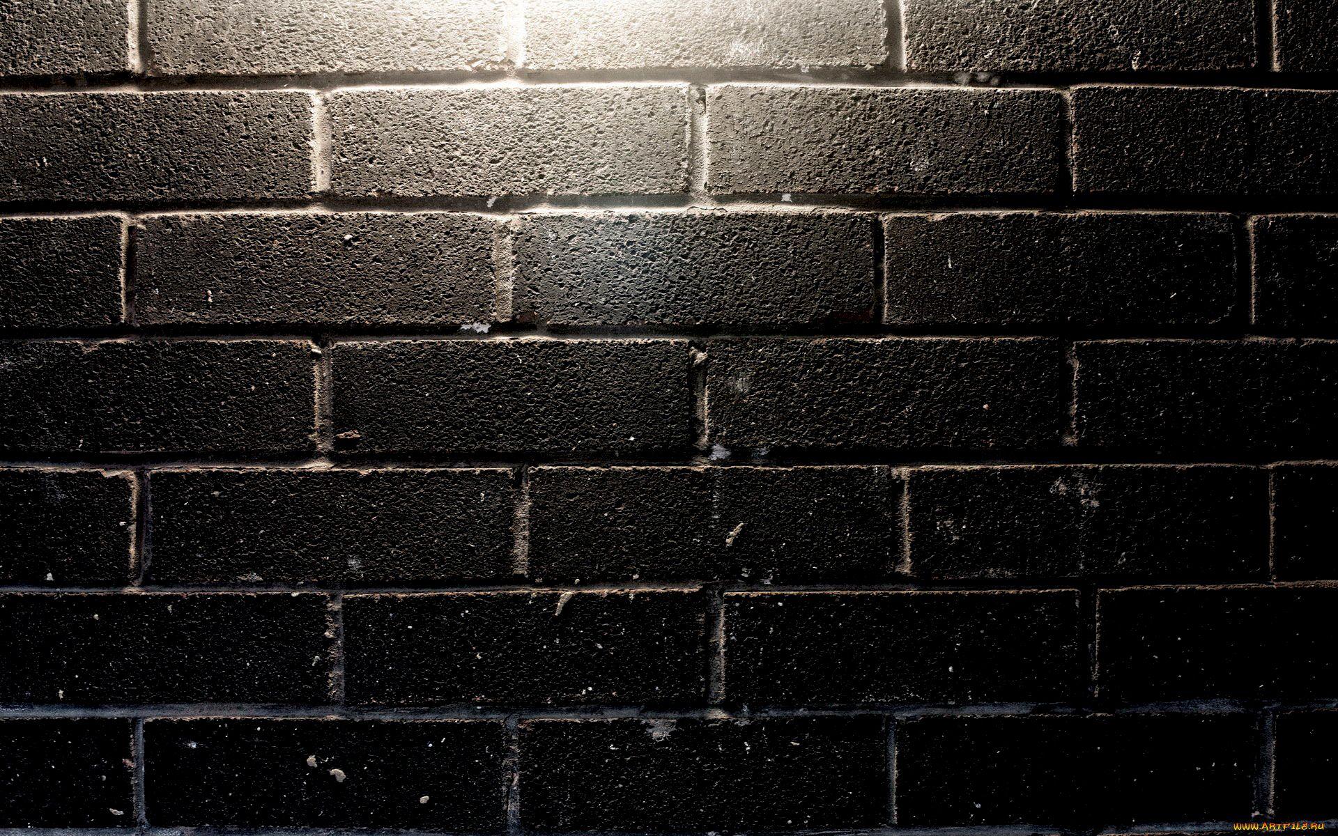Black Brick Wall Background Hd Wallpaper 1920x1200