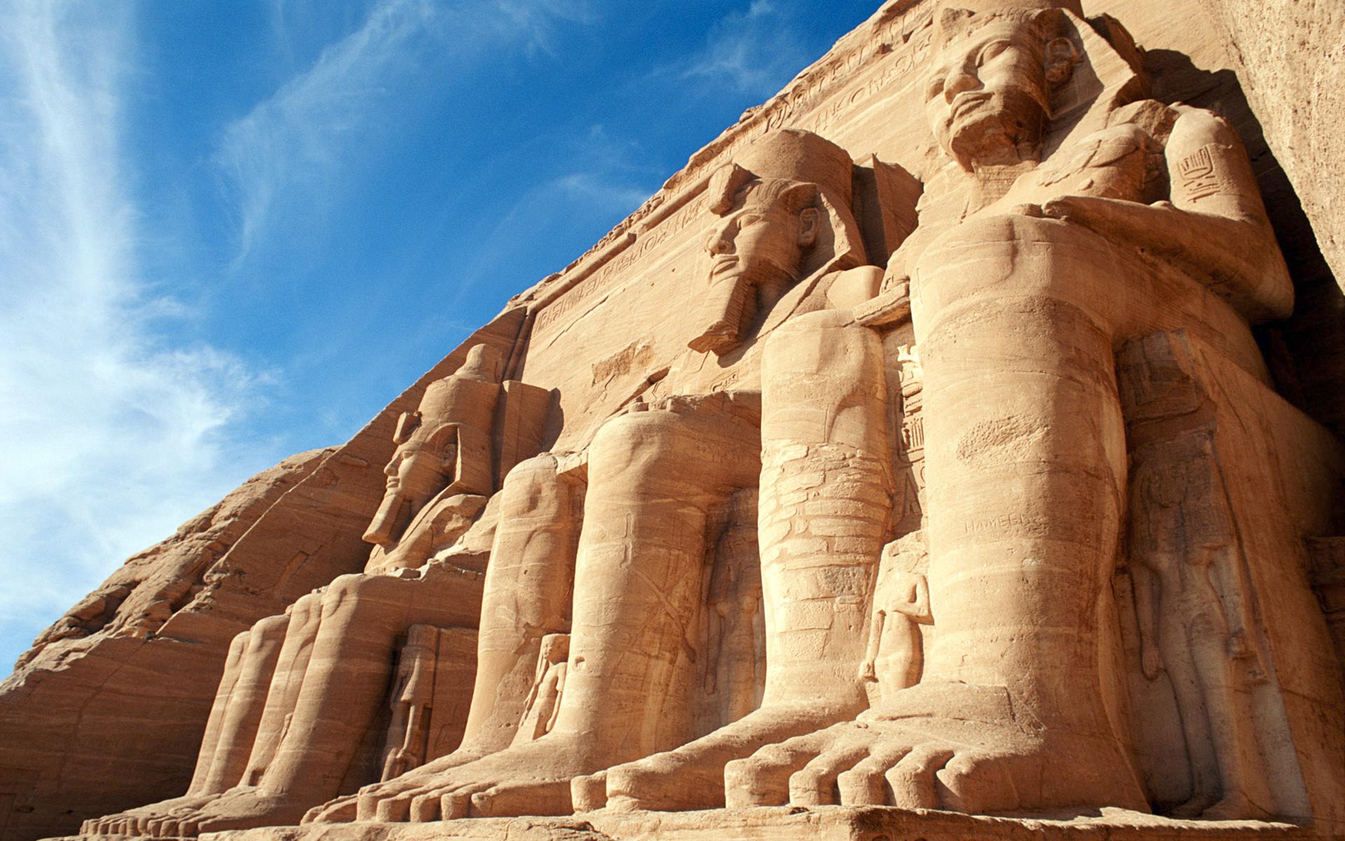 Abu Simbel Temples Egypt - Egypt Wallpaper (34546722) - Fanpop