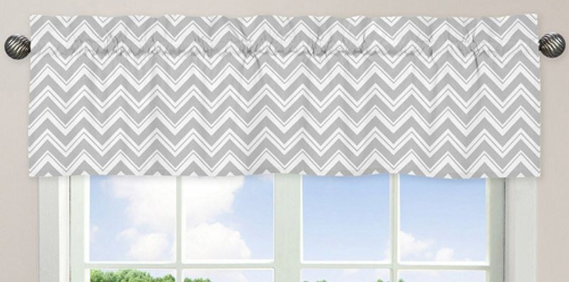 Zig Zag Pink and Gray Wallpaper Border by Sweet Jojo Designs 800x397