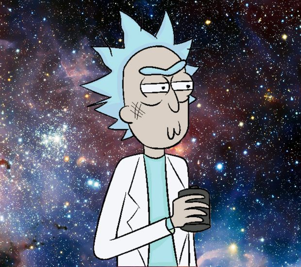 Download Rick and Morty wallpapers to your cell phone 620x551