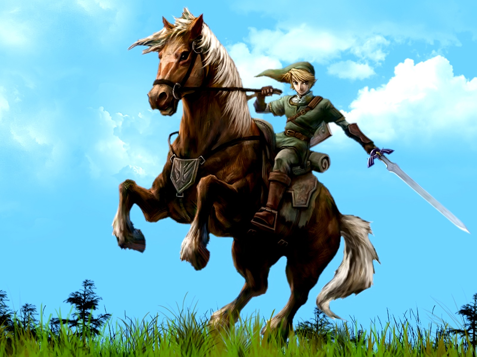 Legend of Zeldas Link desktop wallpaper 1600x1200