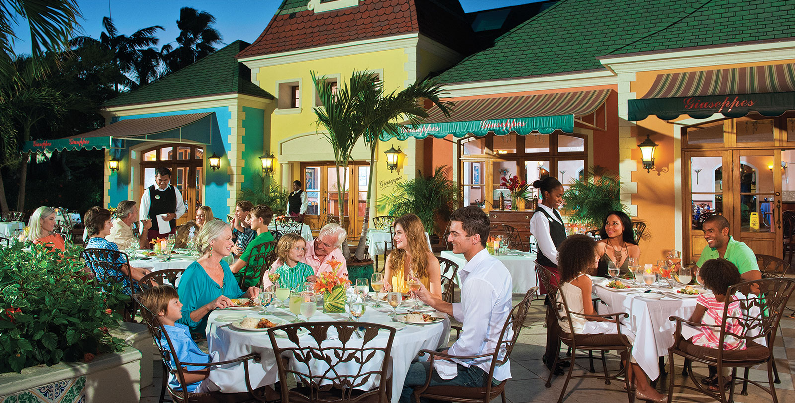 All Inclusive Restaurants Dining Experiences Beaches 1600x811