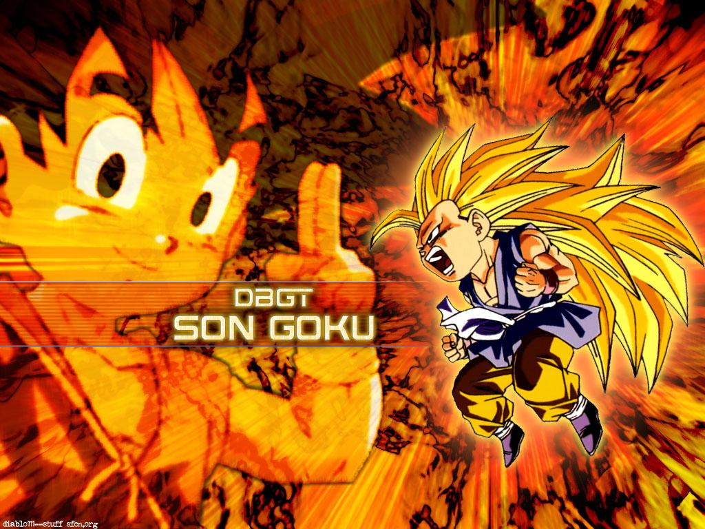 Kawaii Wallpapers    Dragon Ball GT Wallpapers   Son Goku   Fondos 1024x768