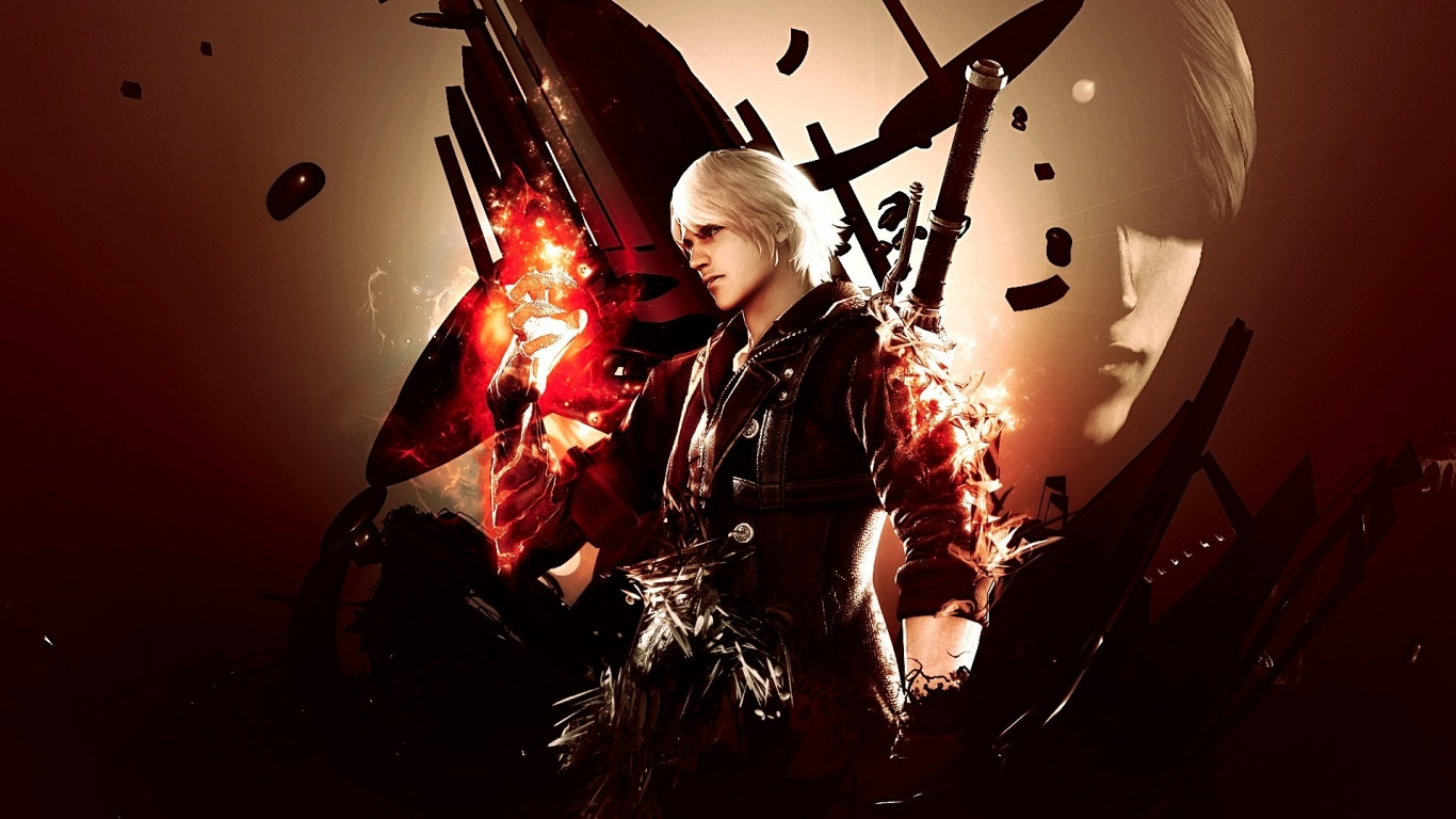 devil may cry 5 wallpaper wallpapers 32357 1366x768jpg 1366x768