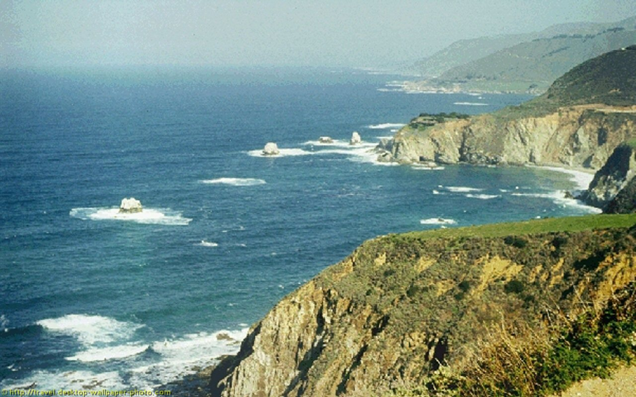 Pacific Coast Wallpaper   Background picture 1280x800