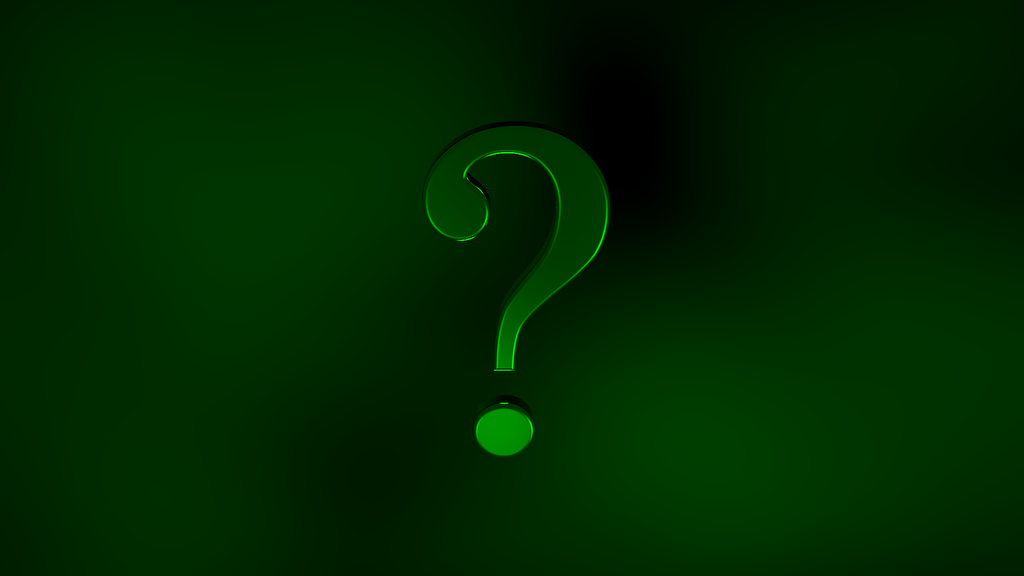 The Riddler Question Mark Wallpaper Question by darthostrich 1024x576