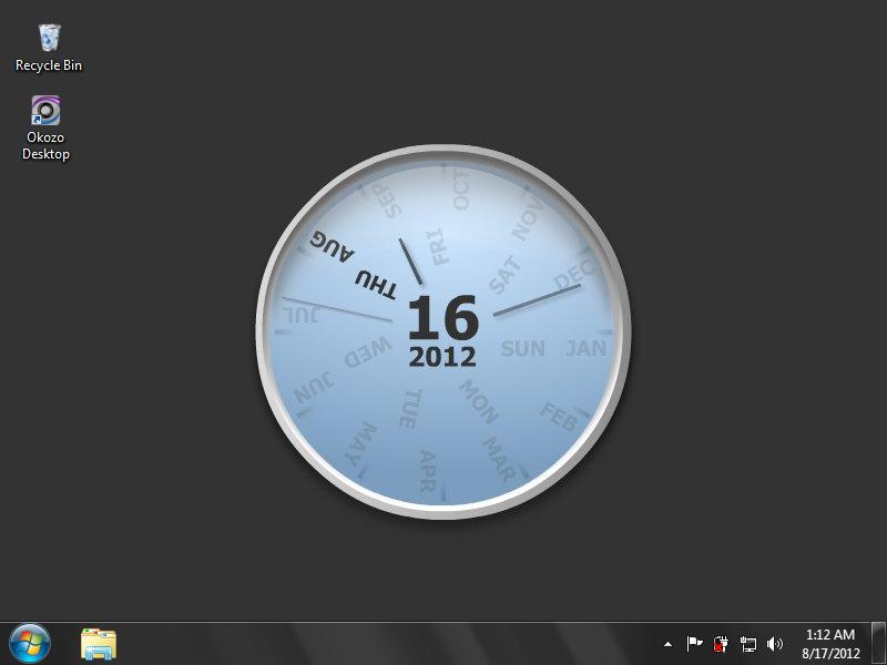 Desktop Calendar Windows 8 : Digital clock wallpaper windows wallpapersafari