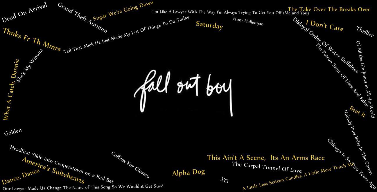 34 Fall Out Boy Wallpaper Hd On Wallpapersafari