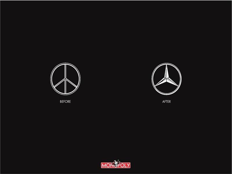 peace mercedes benz monopoly logos 1280x960 wallpaper 800x600