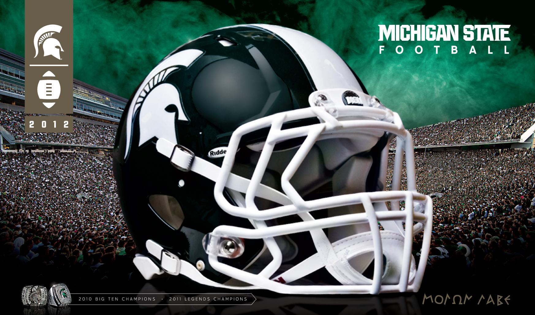 49 Michigan Football Desktop Wallpaper On Wallpapersafari: [49+] MSU Wallpapers Desktop On WallpaperSafari