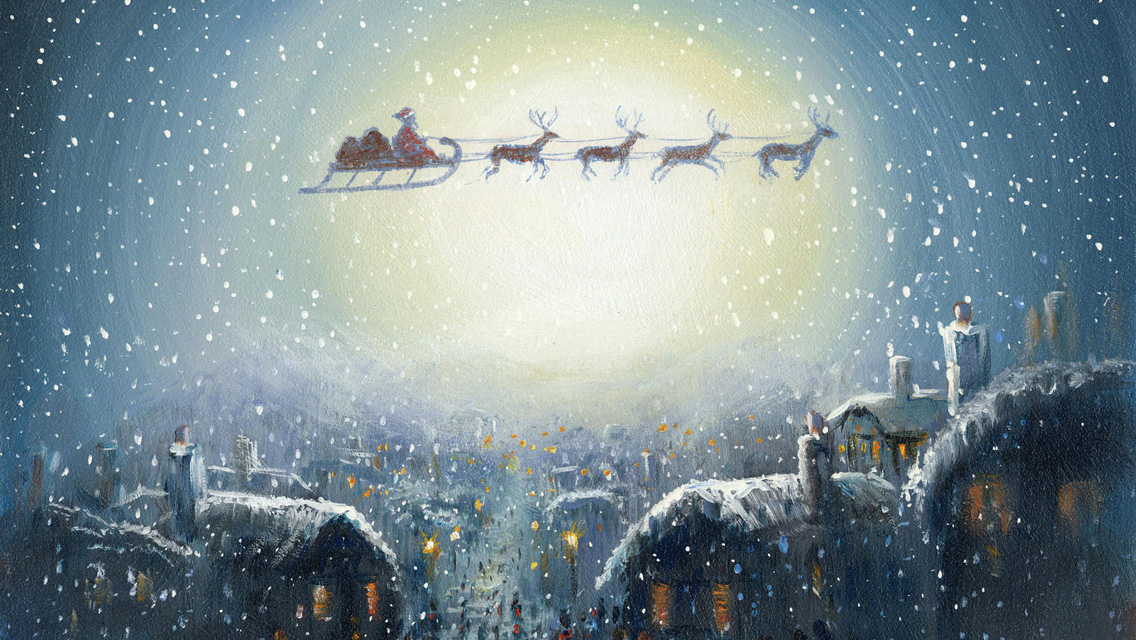 Free Download Wallpapers Christmas 2012 Santa Claus Hd