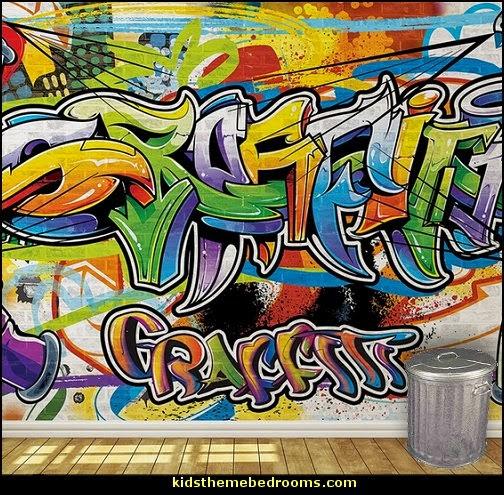 cool graffiti wall wallpaper murals 504x495