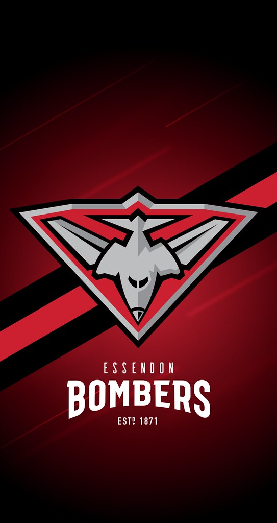 Essendon Bombers iPhone 678 Lock Screen Wallpaper Flickr 543x1024