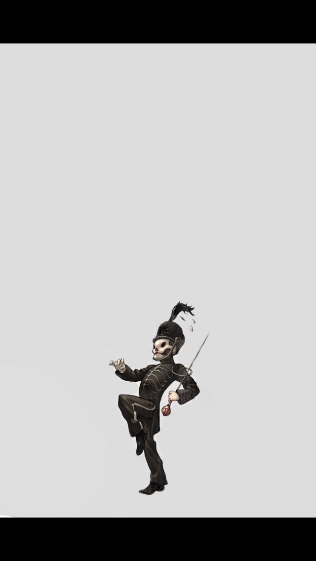 The black parade skeleton MY BANDS in 2019 My chemical romance 640x1136