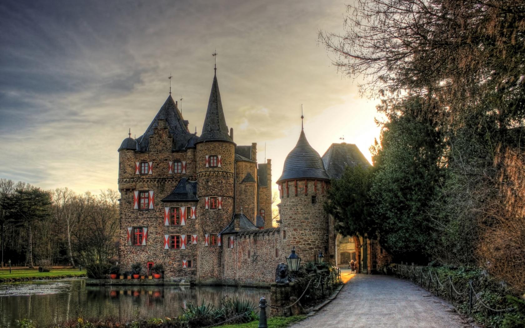 medieval castle desktop wallpaper   weddingdressincom 1680x1050