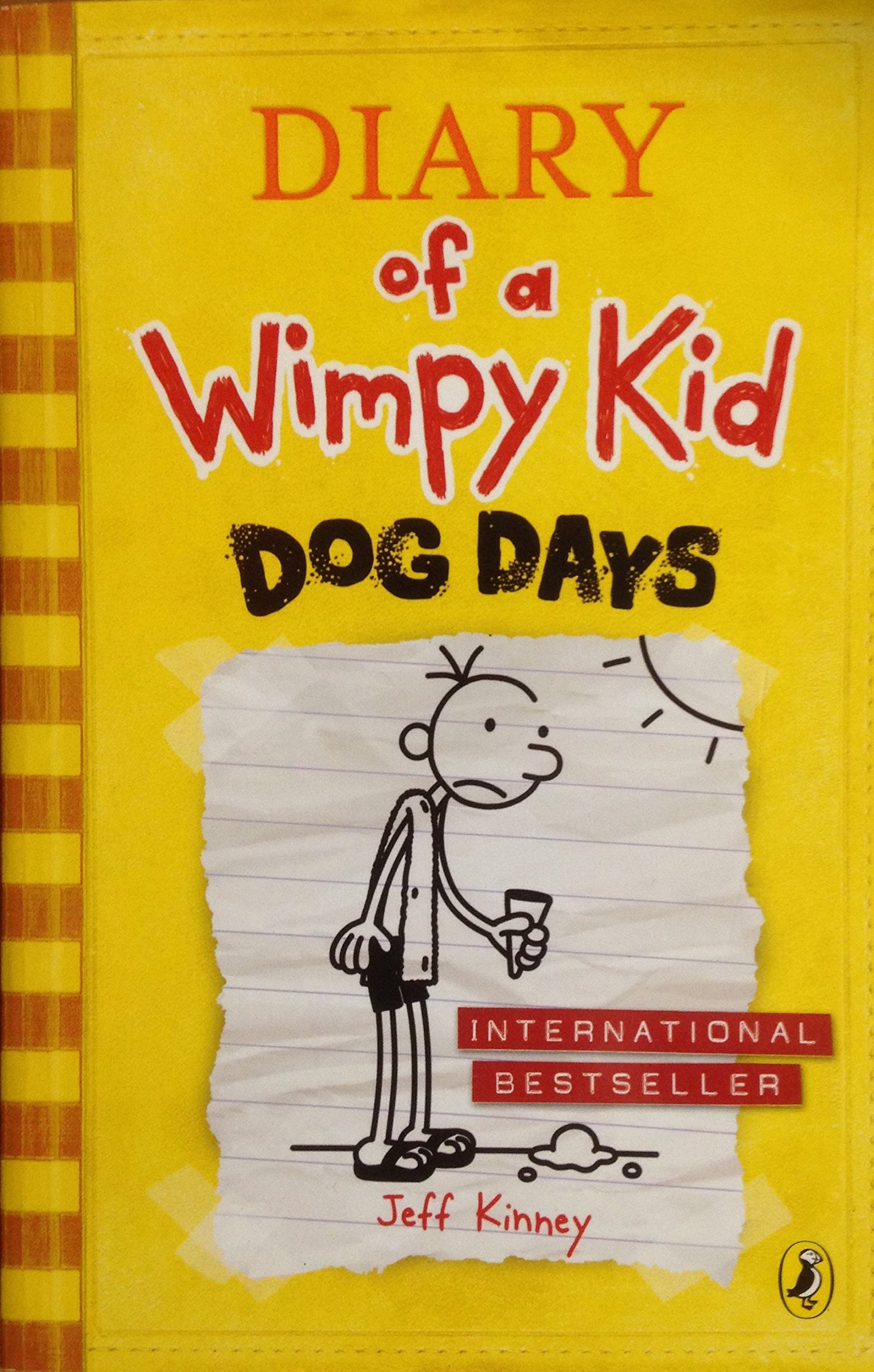 Amazoncom Dog Days Diary of a Wimpy Kid book 4 9780141343143 1631x2560