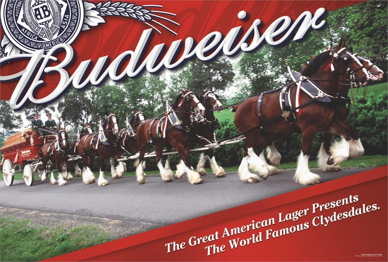 Budweiser Clydesdale W...