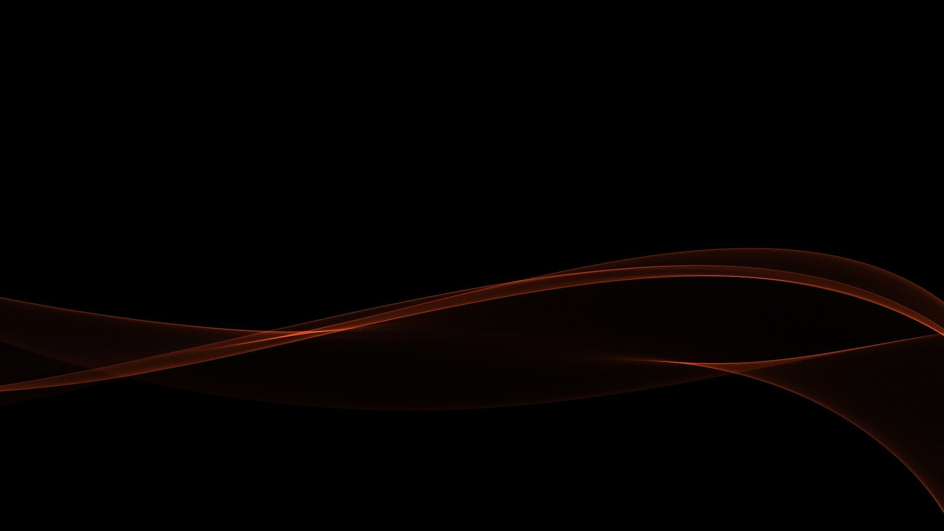 red gradient minimalistic waves black abstract wallpaper desktop 1920x1080