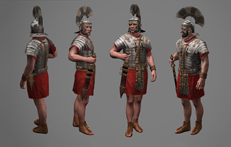 Wallpaper Rendering Pearls Armor Legionary Gladius Roman 1332x850