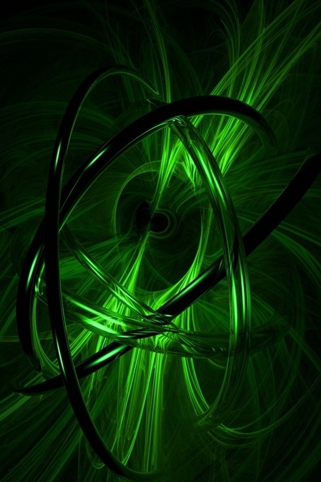 Green 3d Design Iphone 4 Wallpapers Free 640x960 Hd I Phone Wallpaper