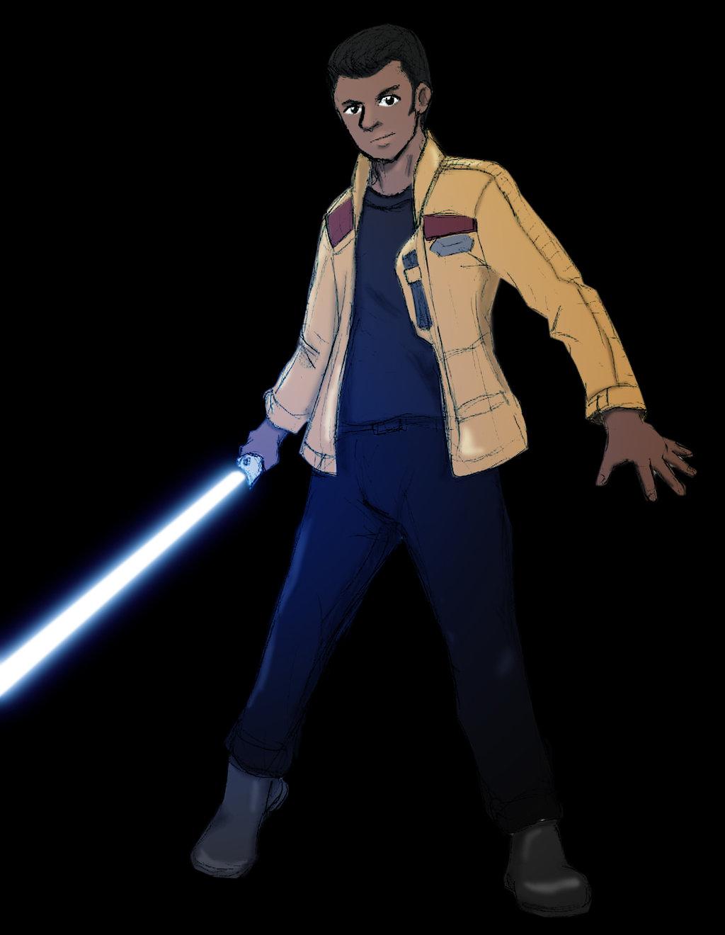 Finn Star Wars The Force Awakens by commanderdad 1024x1320