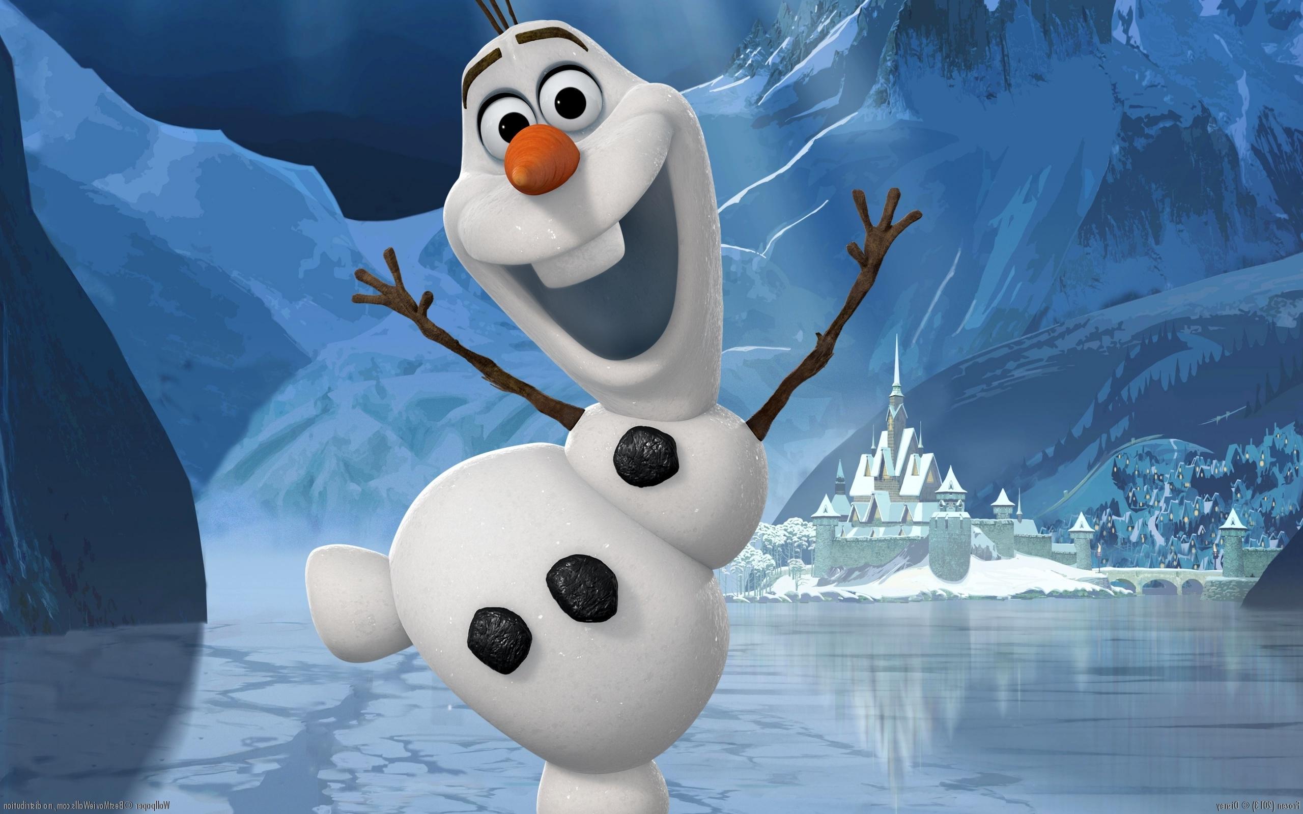 Olaf from Frozen Wallpaper 2560x1600