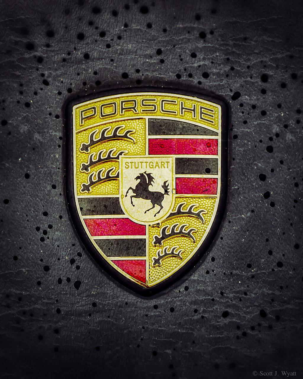 Porsche Emblem Wallpaper