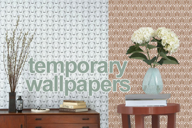Temporary wallpapers   interior design trend spotting for renters 620x413