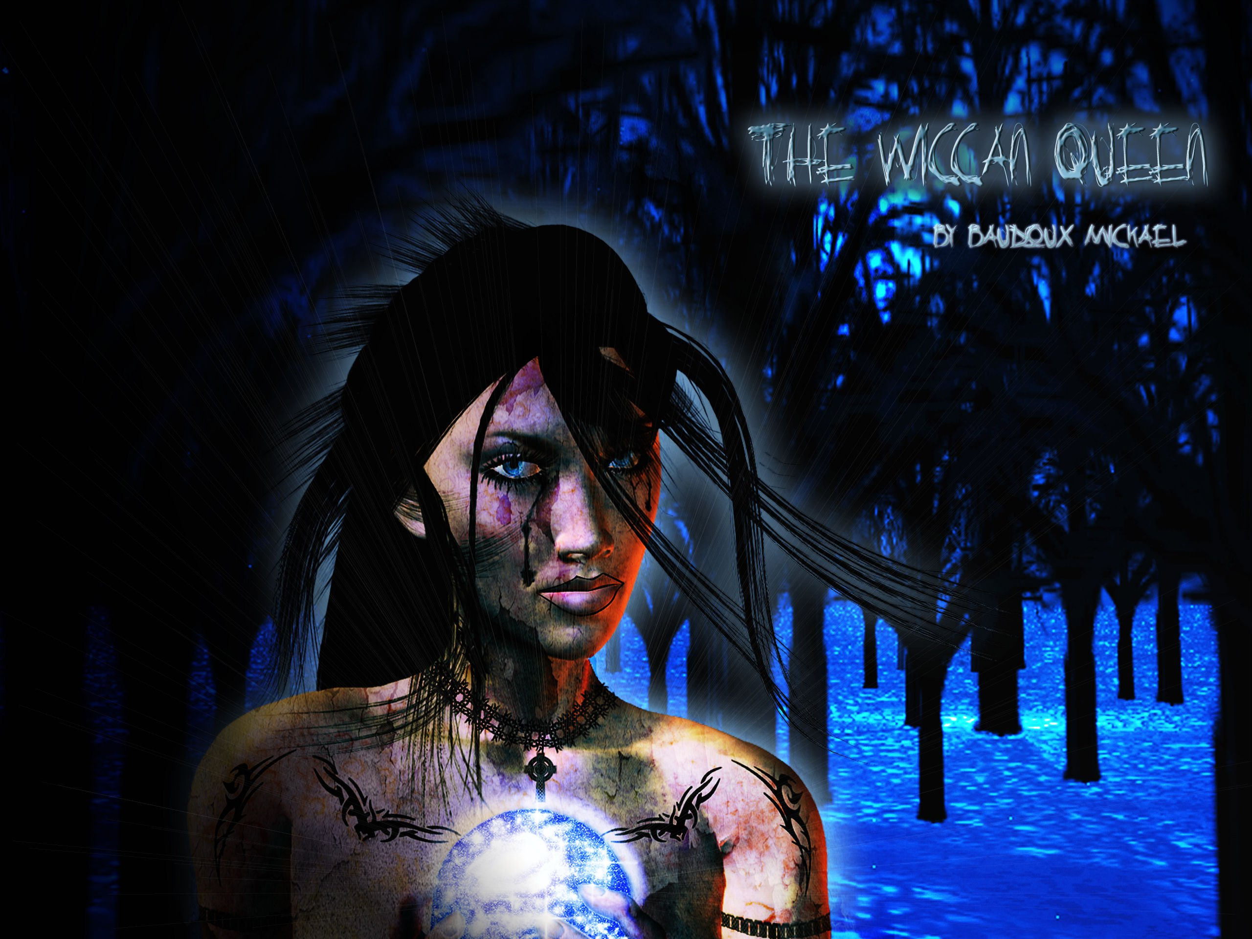 Background wallpaper The wiccan Queen 2560x1920
