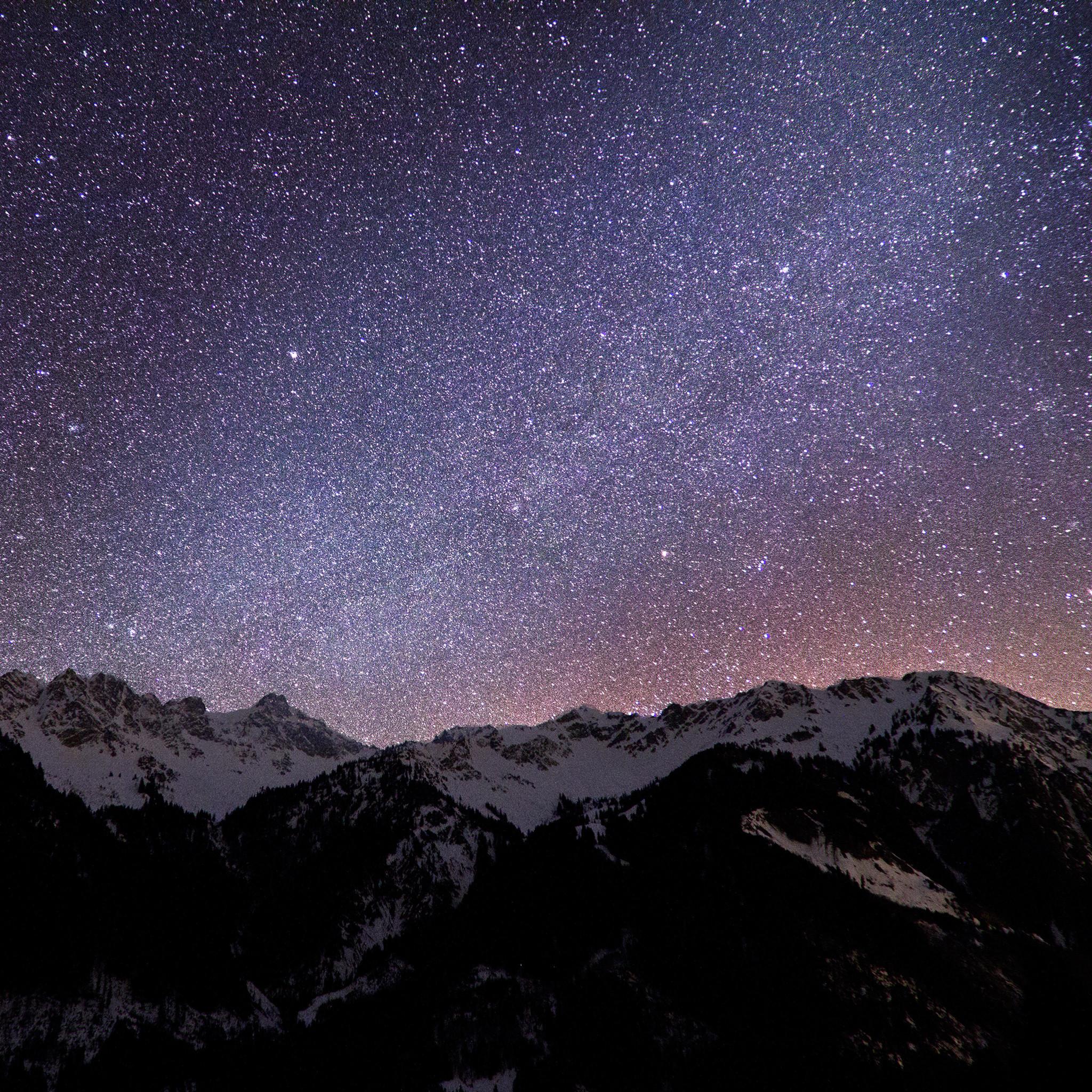 Ios Milky Way Retina Wallpaper For Ipad Air   quotekocom 2048x2048