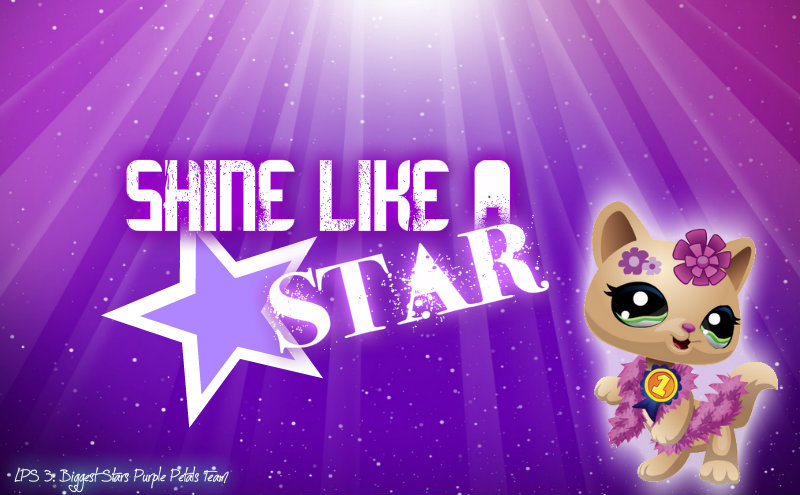 LPS Biggest Stars Purple Team Wallpaper by LPS Universe 800x495