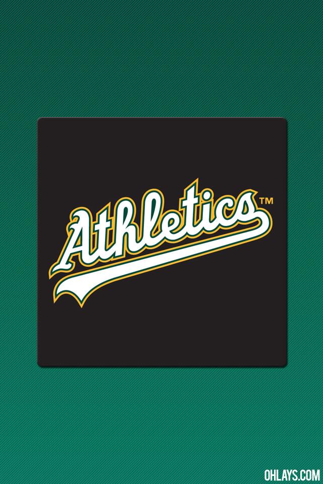 Oakland Athletics iPhone Wallpaper 5768 ohLays 640x960
