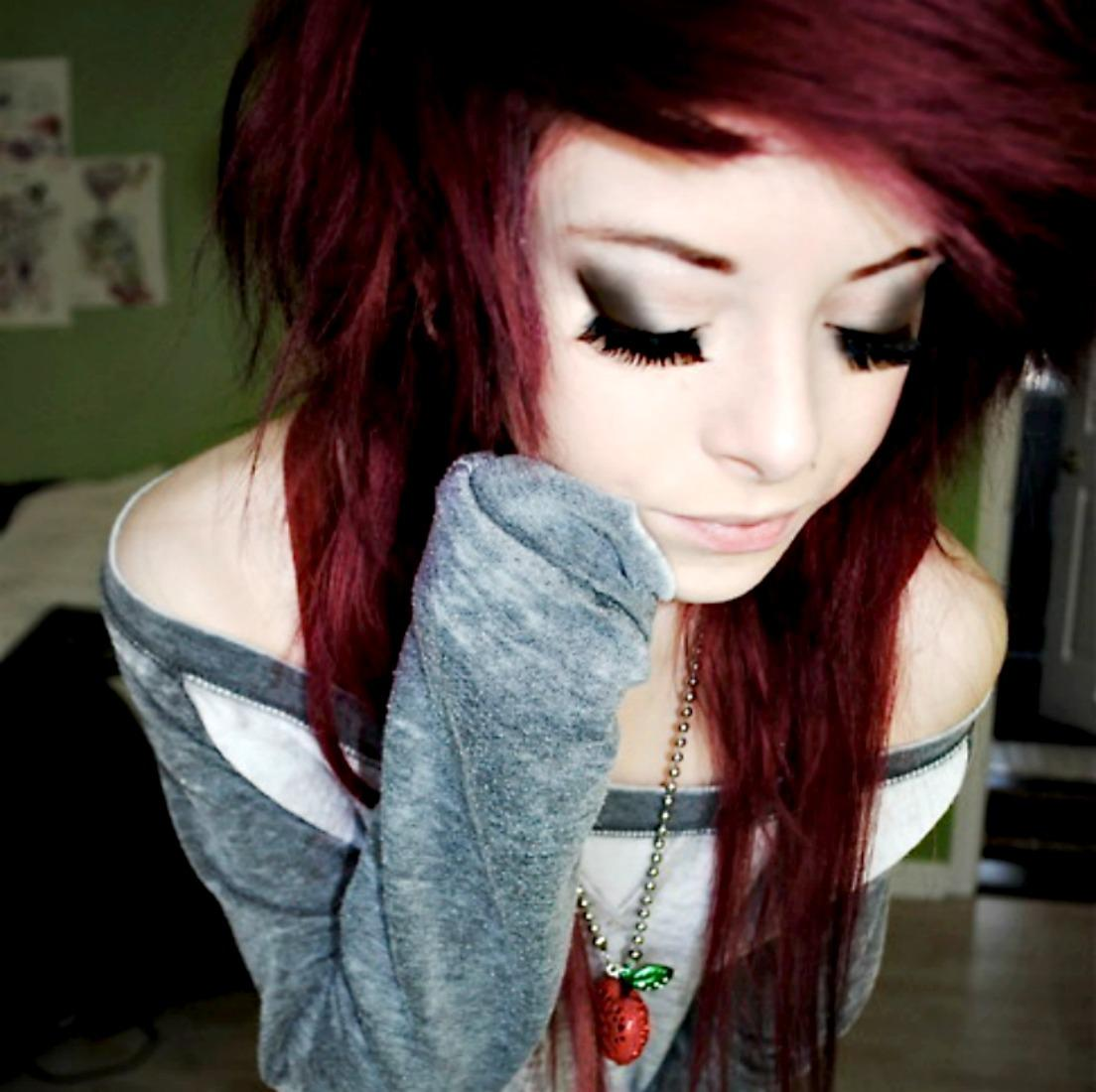 Emo Girls Wallpapers HD Pictures One HD Wallpaper Pictures 1104x1100