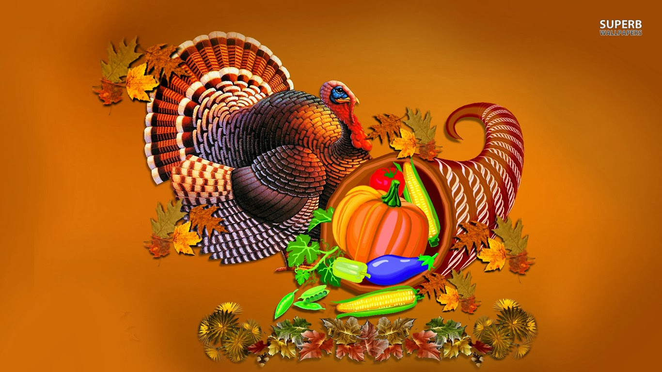 Thanksgiving Wallpapers and Screensavers 1366x768
