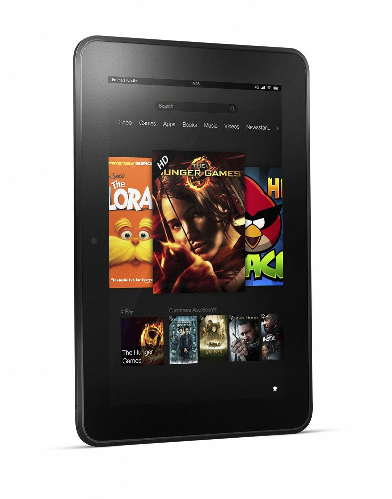 Amazon Changing the Game With 4G LTE Powered Kindle Fire HD and Its 786x1000
