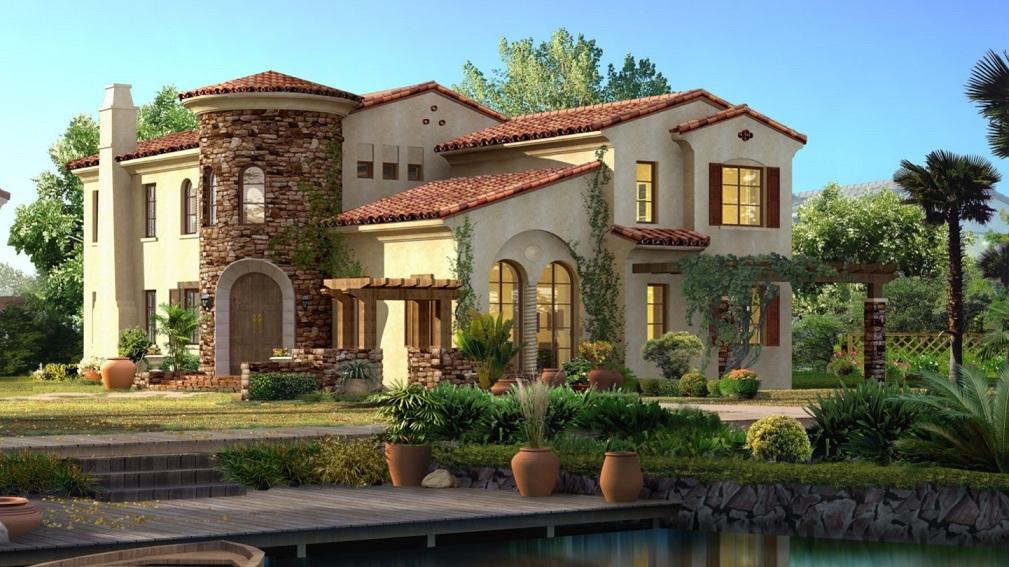 beautiful homes wallpaper - wallpapersafari