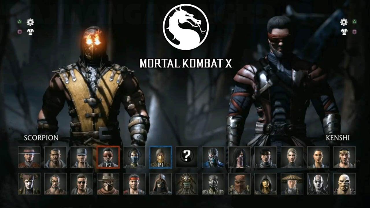 Mortal Kombat X   All Characters Revealed 60fps [1080p] TRUE HD 1280x720