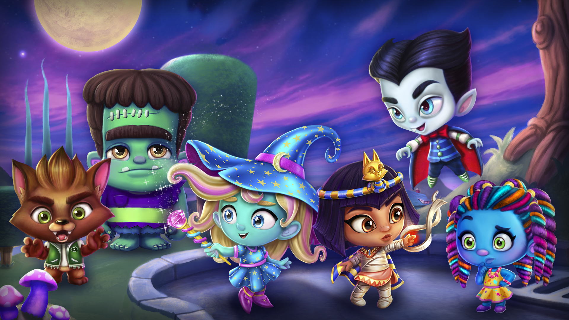 Netflix Adds Six Kids Series Including Super Monsters From Avi 1920x1080