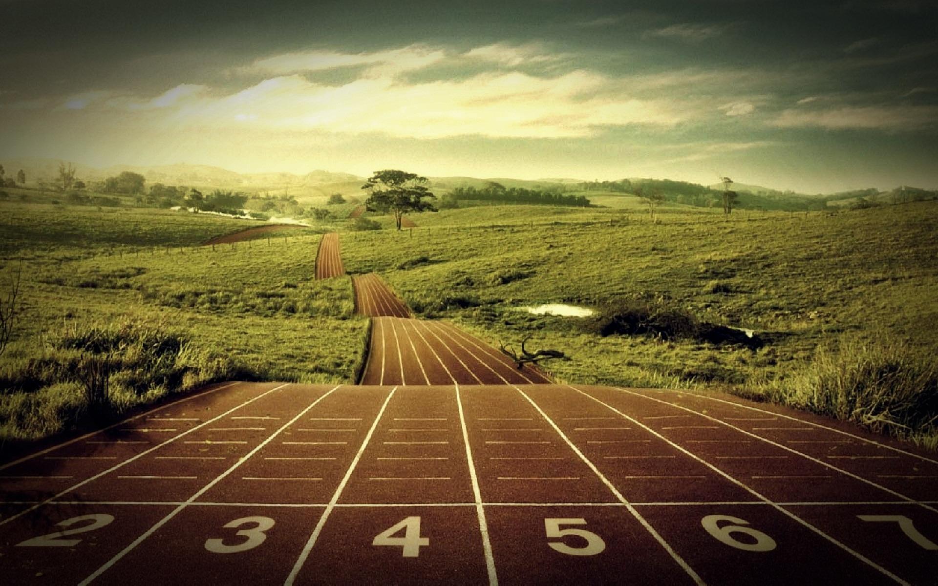 Running Track Wallpaper Endless running track 9dfd3999 1920x1200