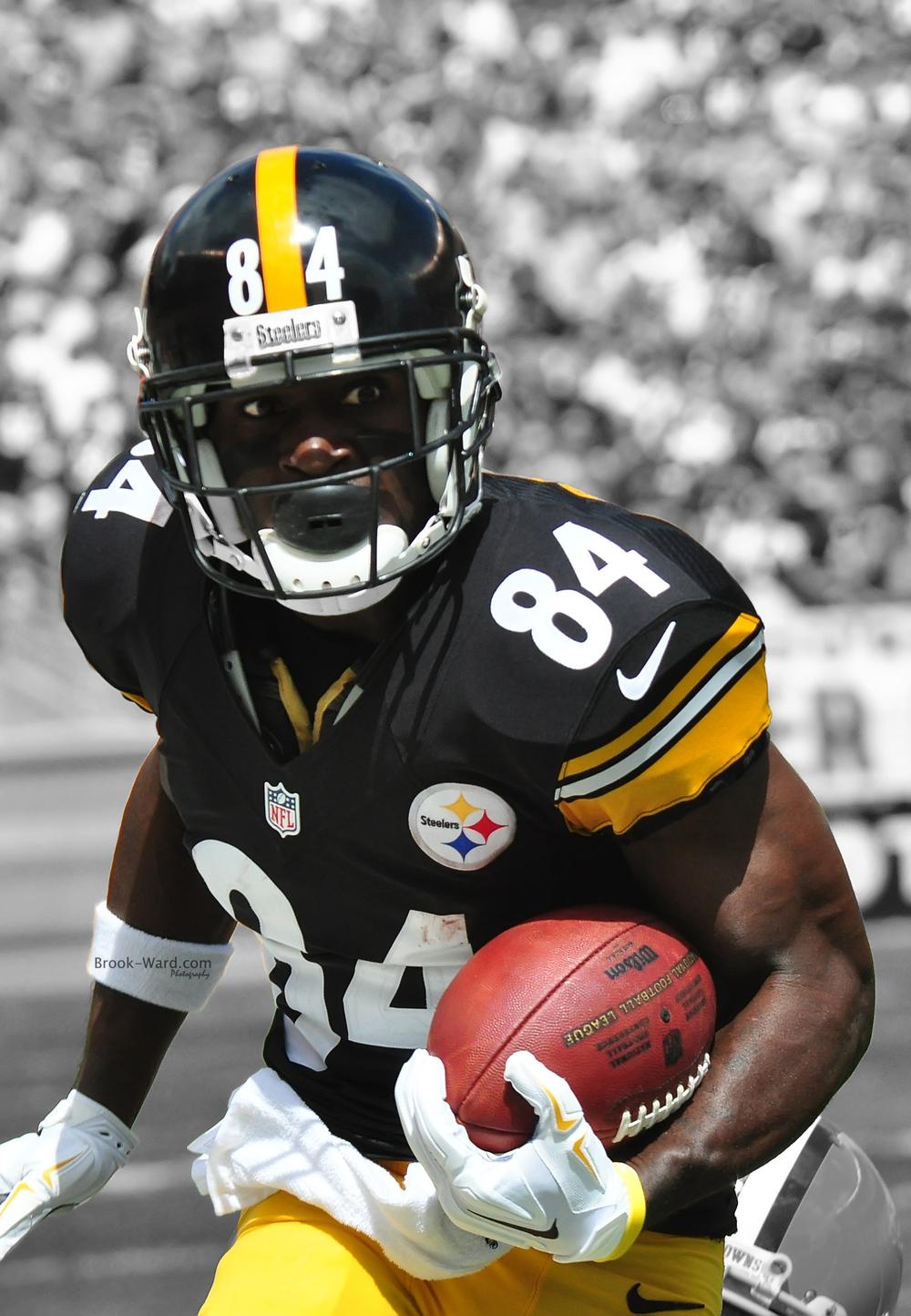 [48+] Steelers Antonio Brown Wallpaper HD on WallpaperSafari