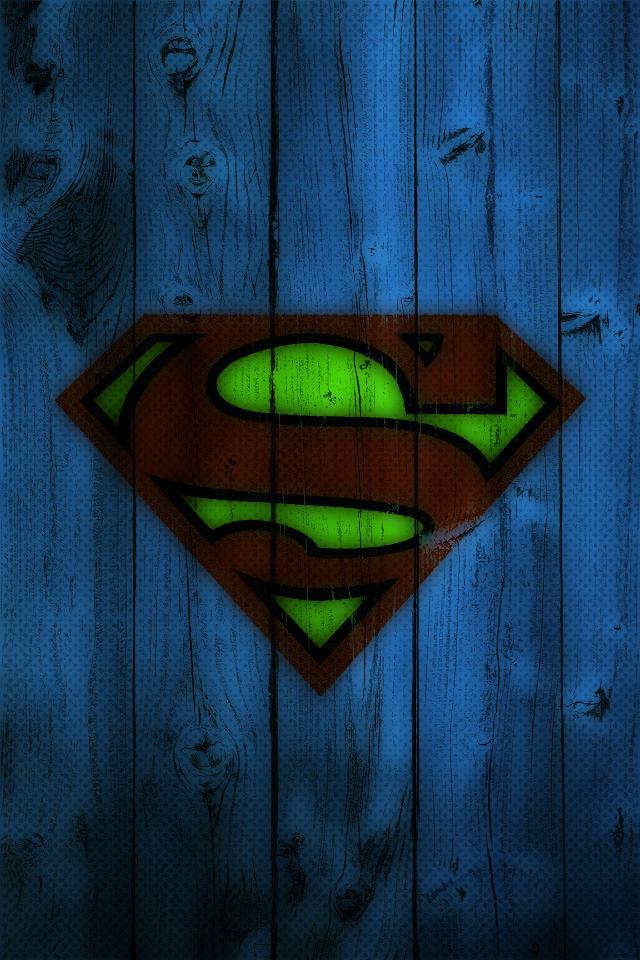 Superman HD Screensaver wallpaper 640x960