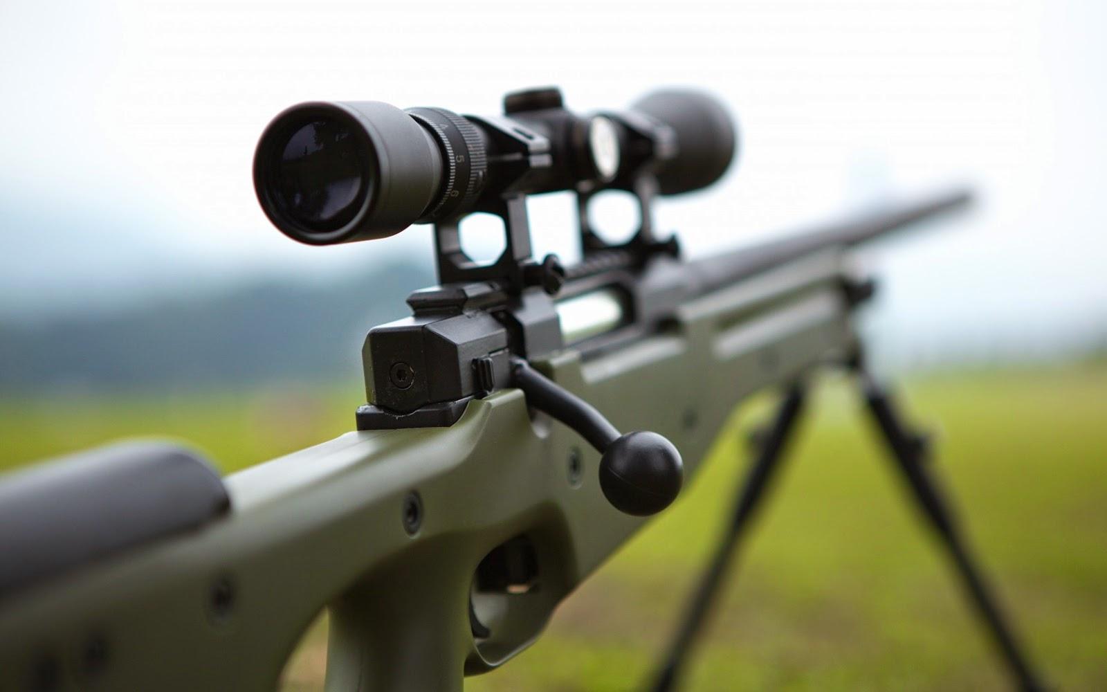 Sniper Rifle Wallpaper HD - WallpaperSafari