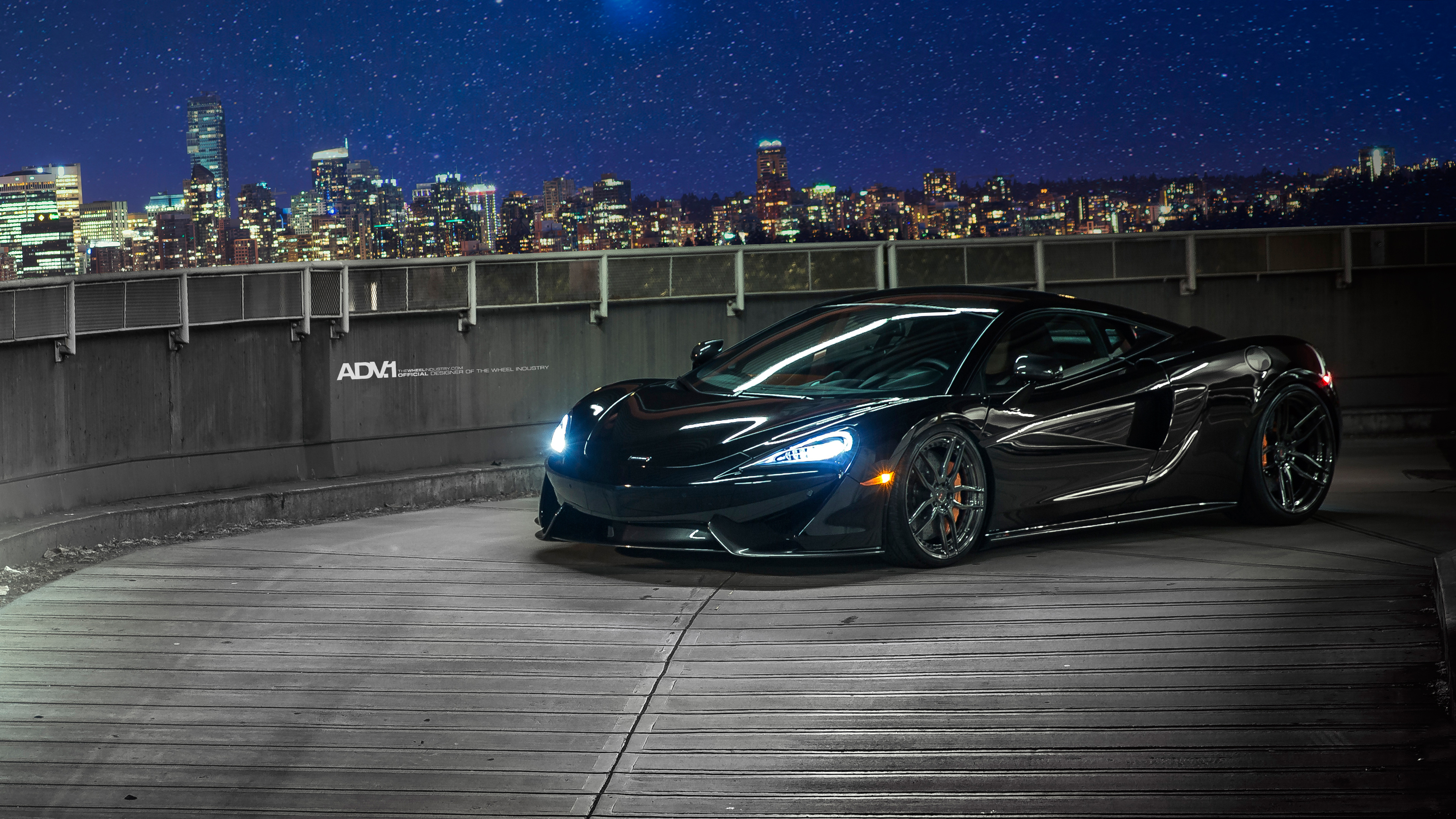 McLaren 570S ADV005 MV2 CS Wheels Wallpaper HD Car Wallpapers 3840x2160