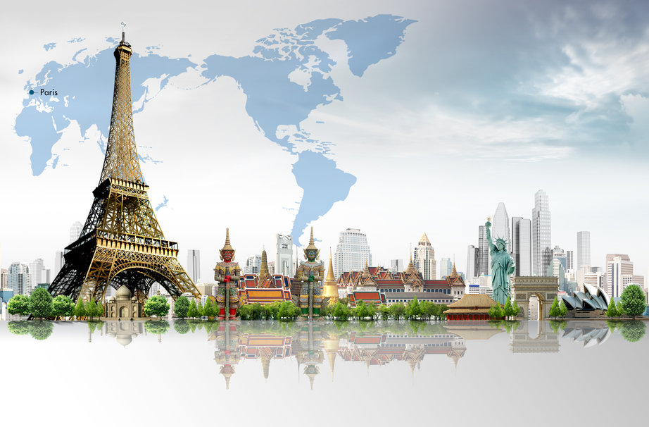 Around The World wallpaper   ForWallpapercom 922x606