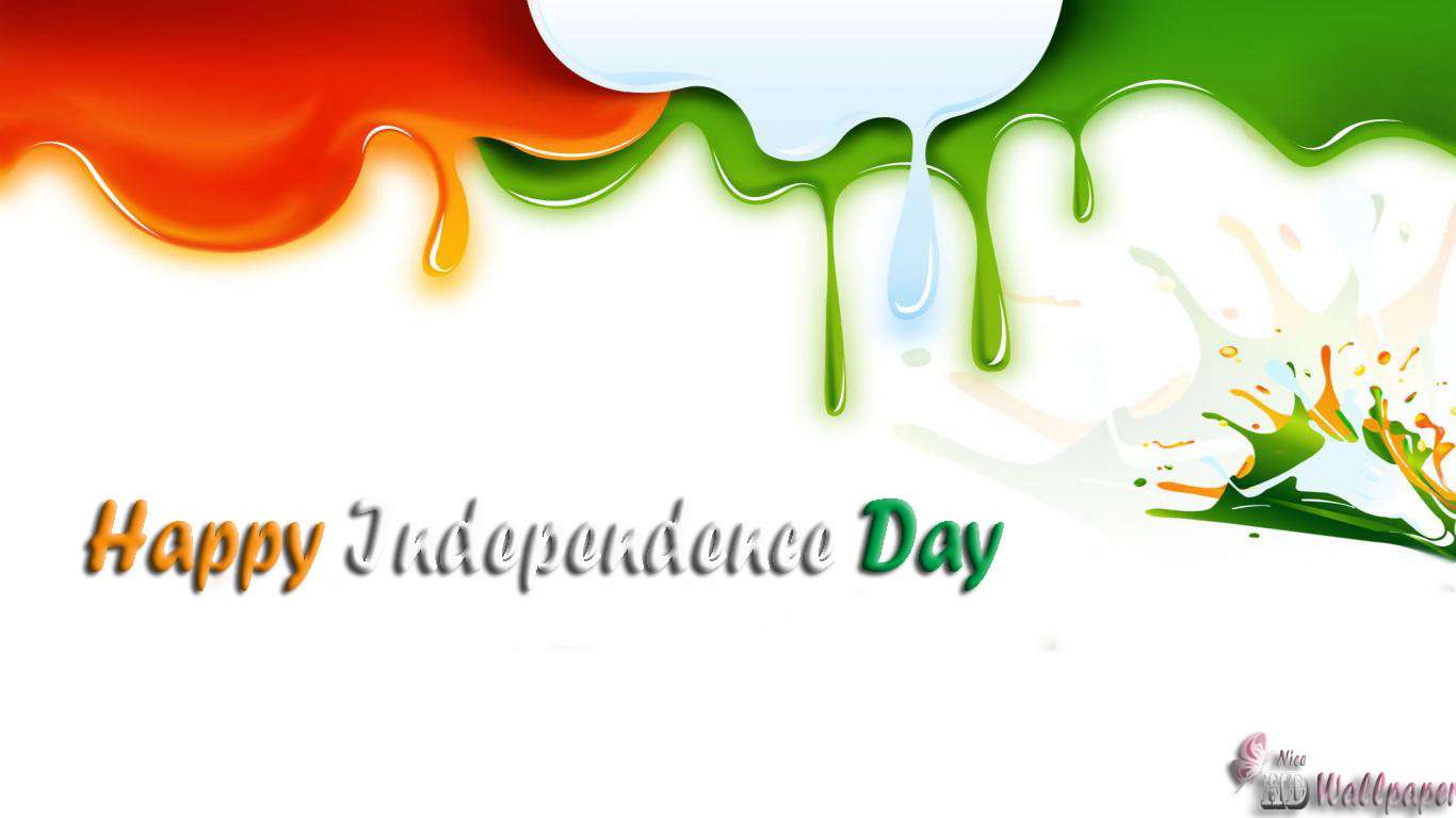 indian flag wallpaper for wishing happy independence day hd wallpaper 1366x768