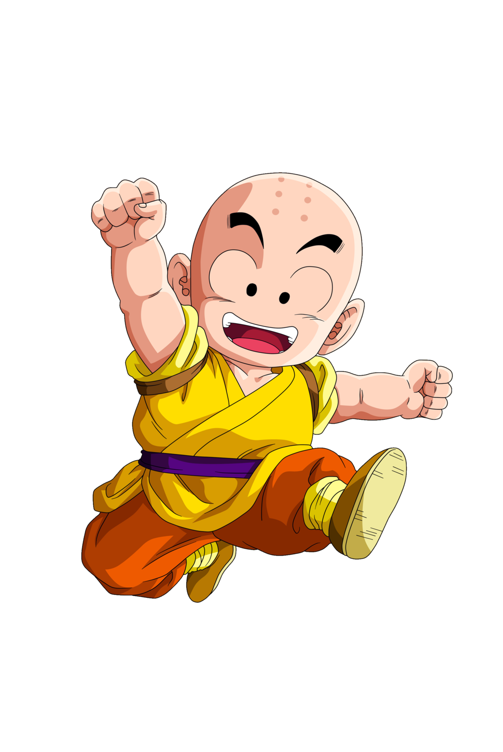 Dragon Ball Krillin by diogouchiha 1024x1532