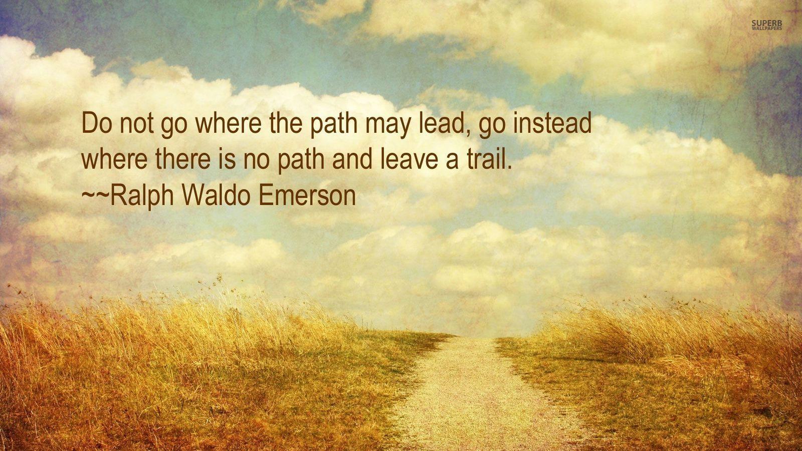 Leave a Trail   Advice Wallpaper 38740635 1600x900