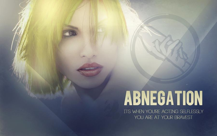 Abnegation by CherokeeLove 900x563